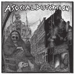 Asocial Distortion - S/T (LP)